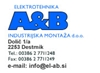 ELEKTROTEHNIKA A&B industrijska montaža d.o.o.
